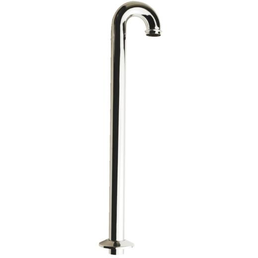 Do it 20-1/2 In. x 1-1/2 In. Chrome Plated Floor Tube