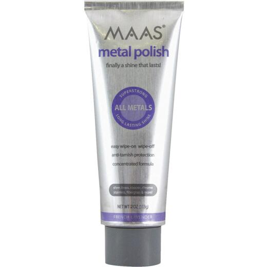 Maas 2 Oz. Polishing Creme For All Metals