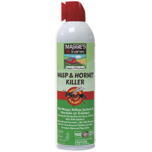 Maggie's Farm 14 Oz. Foaming Aerosol Spray Wasp & Hornet Killer