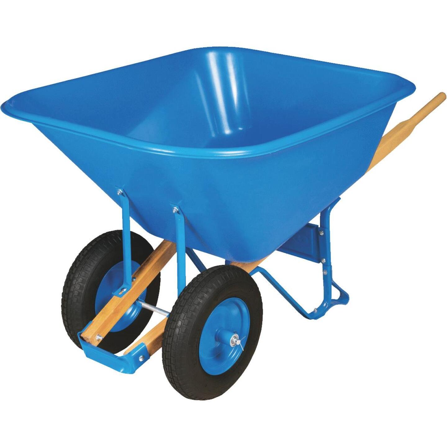 Truper Tru Pro 10 Cu. Ft. Poly Wheelbarrow Image 1